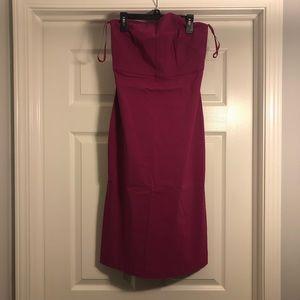 Express strapless dress size 3/4